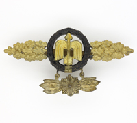 Short Range Night Fighter Clasp in Gold with Pennant by RK