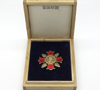 Japanese Cased Wound Badge