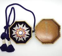 Cased Order of the Sacred Treasure 2nd Class Breast Star