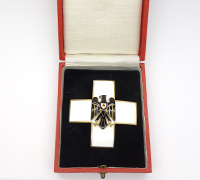 Cased Red Cross Honor Award 2nd Model, (1934-1937) by Godet
