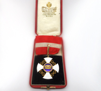 Italian Order of the Crown of Italy in Gold- Commander