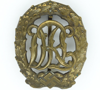 DRL Sports Badge in Bronze by W. Jena