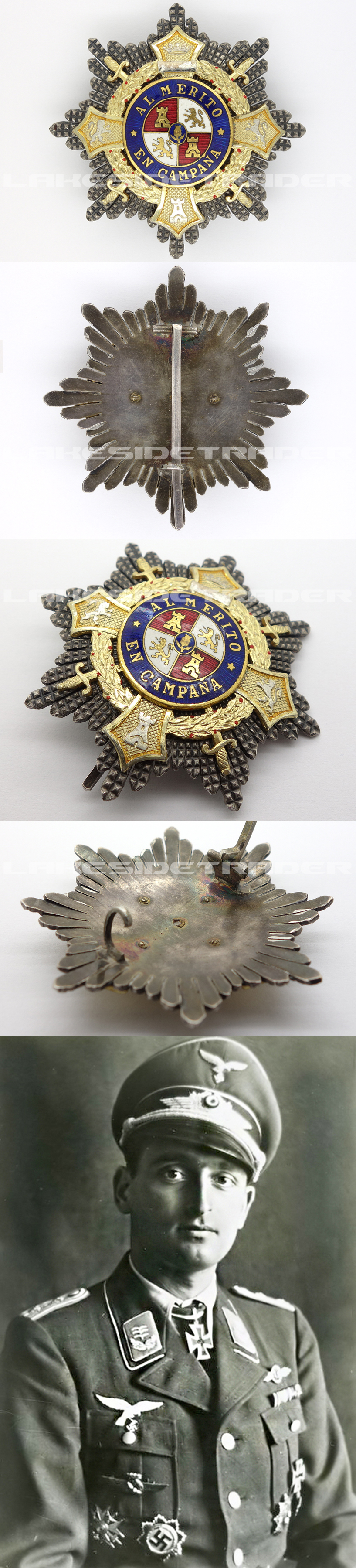 Spanish War Cross – Breast Star