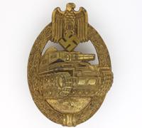 Panzer Assault Badge by A. Wallpach 1942