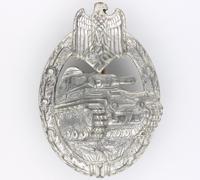 Silver Panzer Assault Badge by Assmann