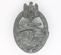 Panzer Assault Badge by F. Linden 1943