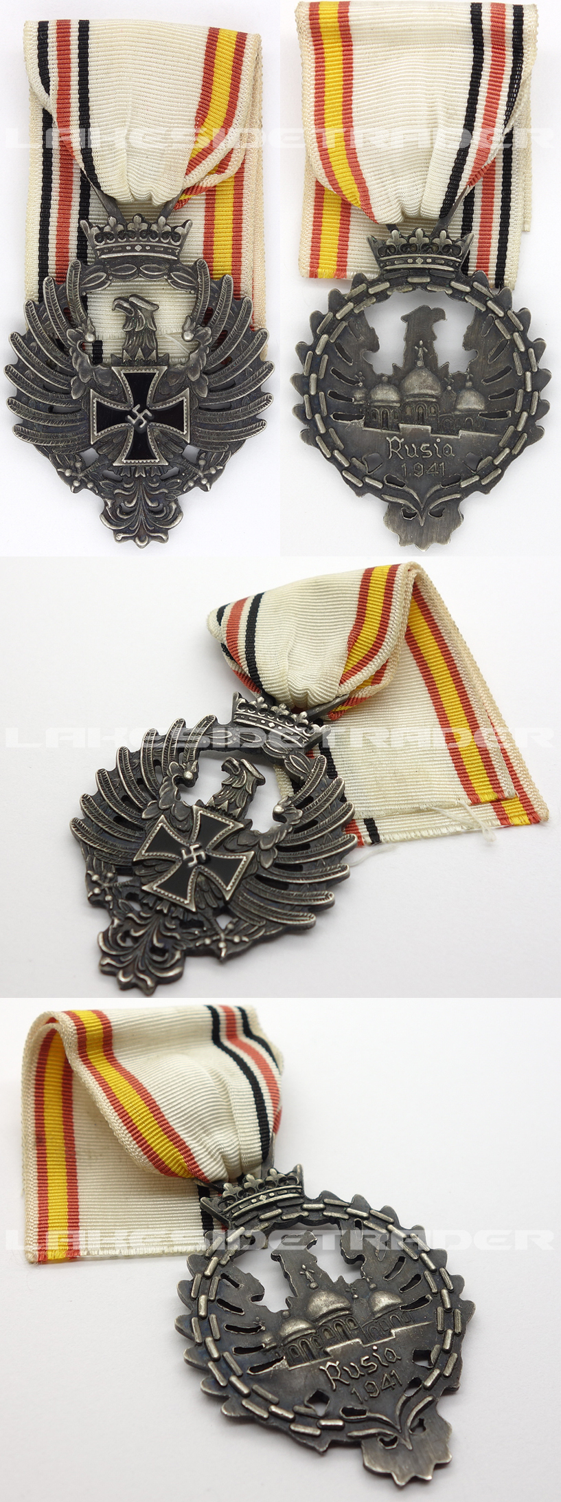 "Spanish ""Blue Division"" Russian Campaign Medal"