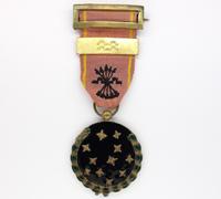Spanish Fascist Party Members Medal 1936