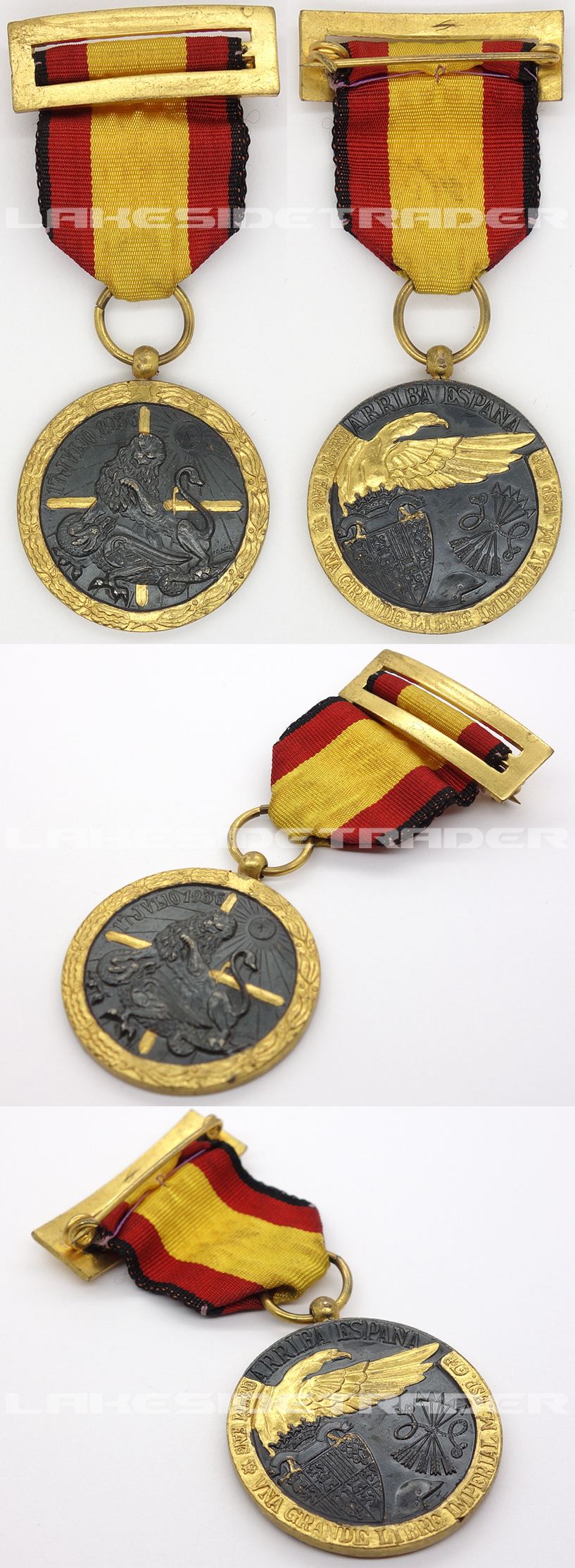Spanish Civil War Campaign Medal 1936-1939