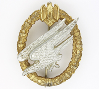 Army Paratrooper Badge by C. E. Juncker