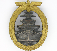 Navy High Seas Fleet Badge by Schwerin