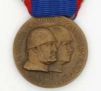 Italian Memorial Medal to the German-Italian Russia Campaign 1941
