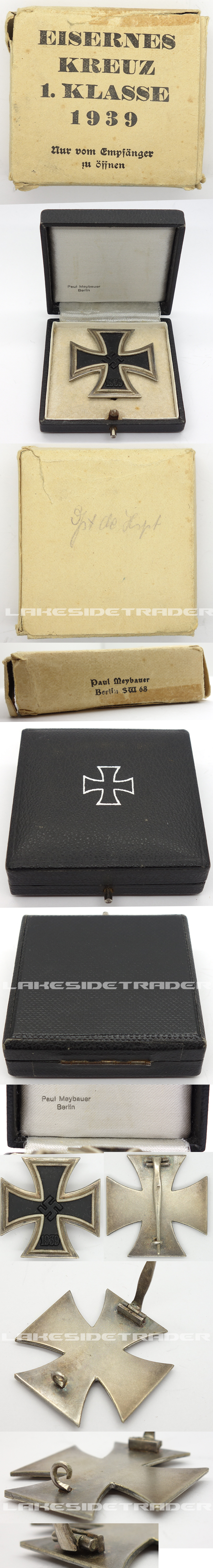 Boxed 1st Class Iron Cross 1st Class by Paul Meybauer