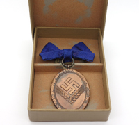 Cased RAD Long Service Award for Women