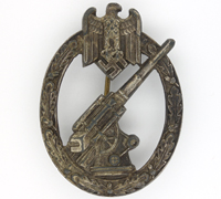 SS Flak Abt. 3 - Flak Badge by C. E. Juncker