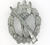 Silver Infantry Assault Badge by Friedrich Orth
