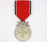 German Medal of Merit in Silver with Swords 1939
