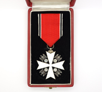 Cased Order of the German Eagle 3rd Class by Godet