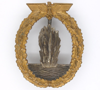 Navy Minesweeper War Badge by R.K.