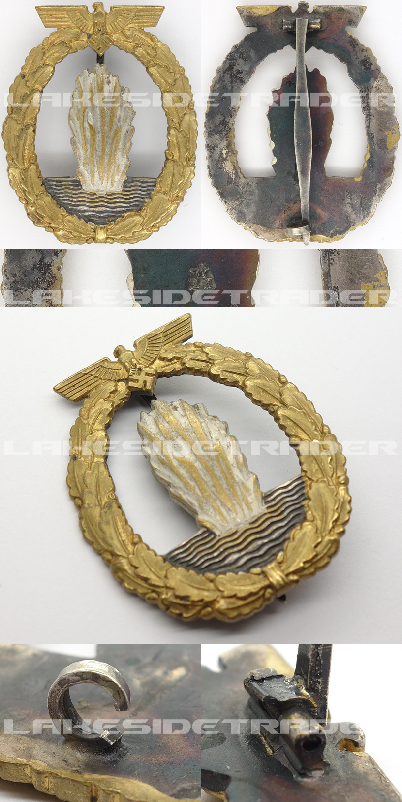 Navy Minesweeper Badge by Assmann