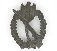 Silver Infantry Assault Badge by F. Zimmermann