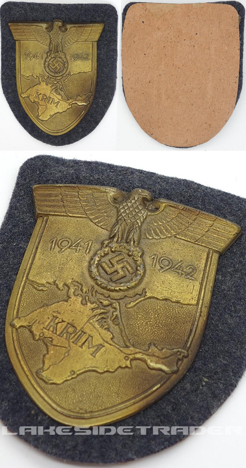 Luftwaffe Krim Campaign Arm Shield