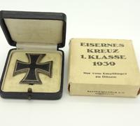 Cartoned 1st Class Iron Cross 1st Class by Klein & Quenzer