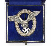 Cased Pilot Badge by BSW