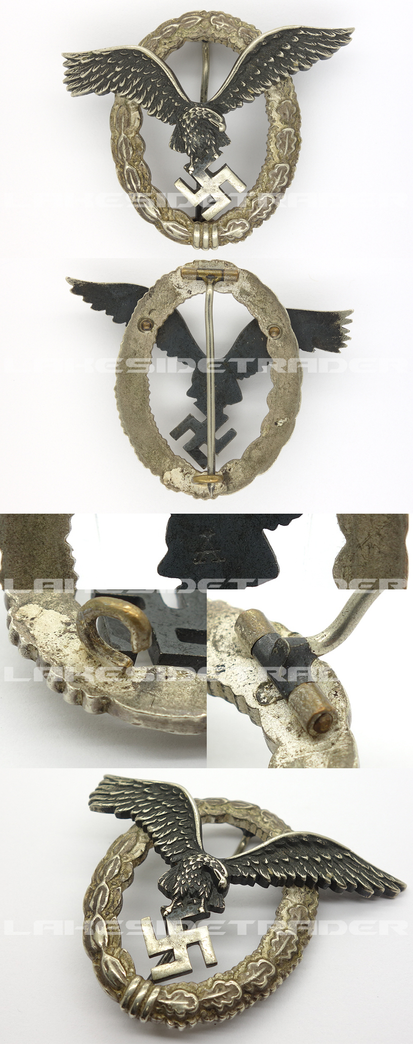 Luftwaffe Pilot Badge by Assmann