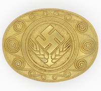 Minty - RADwJ Service Commemorative Badge by Assmann 1938