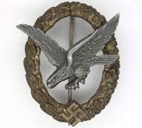 Luftwaffe Air Gunner Badge by Juncker
