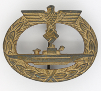 U-Boat Badge by F. Orth