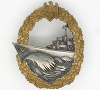 Navy Destroyer War Badge by GWL
