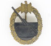 Navy Coastal Artillery Badge by R. Souval