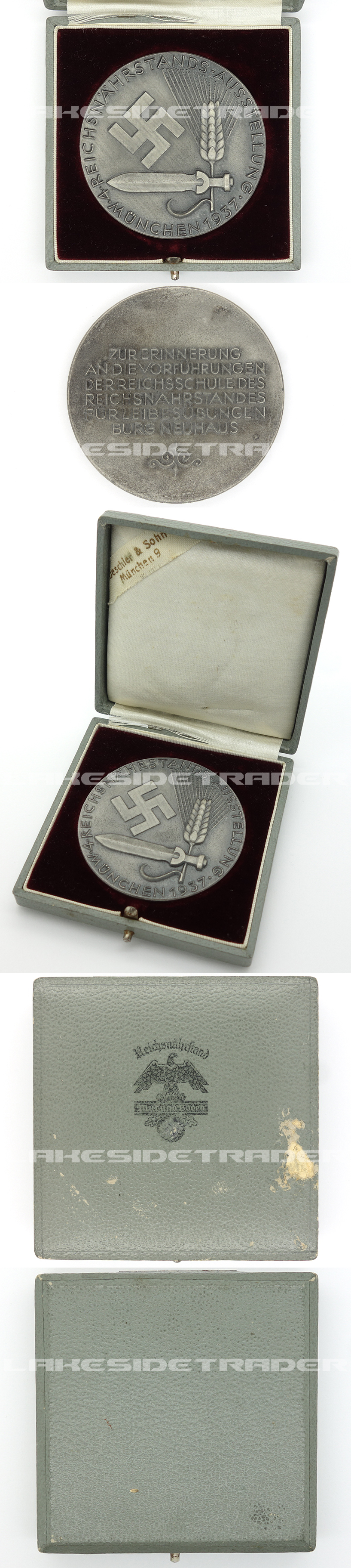 Cased Reichsnährstand Exhibition Non-Portable Award 1937