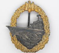 Navy Destroyer Badge by Steinhauer & Luck