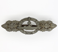 Navy U-Boat Clasp by Schwerin in Bronze