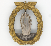 Navy Minesweeper Badge by Schwerin