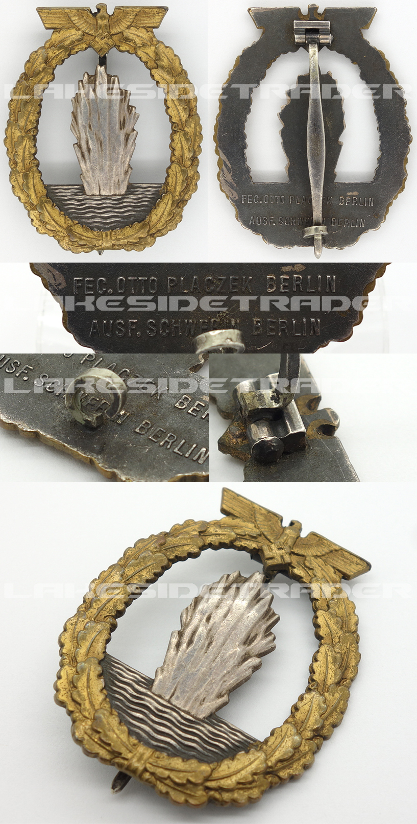 Navy Minesweeper Badge by Schwerin