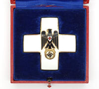 Cased Red Cross Decoration Merit Cross