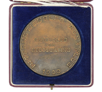 German Cased Aero-Club Medallion 1930