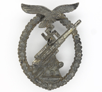 Luftwaffe Flak Badge by Assmann