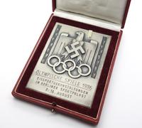 1936 Olympic Games Non-Portable Award