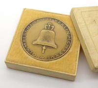 Cased Bronze Summer Olympic Commemorative Medal 1936