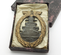Cased Navy High Seas Fleet Badge by R.S.&S.