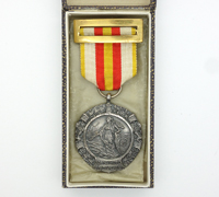 Cased Military Medal by Industrias Egaña