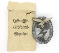 Luftwaffe Ground Assault Badge in Issue Packet by Hammer & Söhne