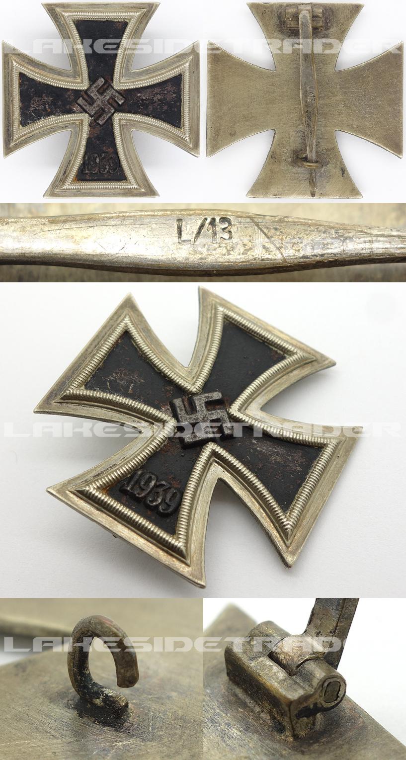 1st Class Iron Cross by L/13