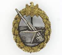 Navy Coastal Artillery Badge by Schwerin