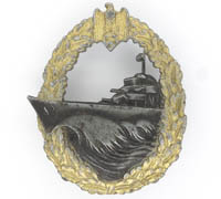 Navy Destroyer Badge by S.H.u.Co.